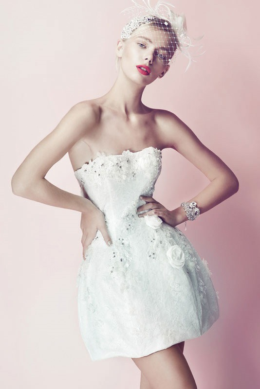 Picture Of ultra glamorous wedding dresses collection from errico maria alta moda sposa  12