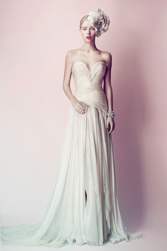 Picture Of ultra glamorous wedding dresses collection from errico maria alta moda sposa  2