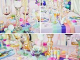 Unbelivably Colorful And Whimsical Willy Wonka Wedding Inspiration