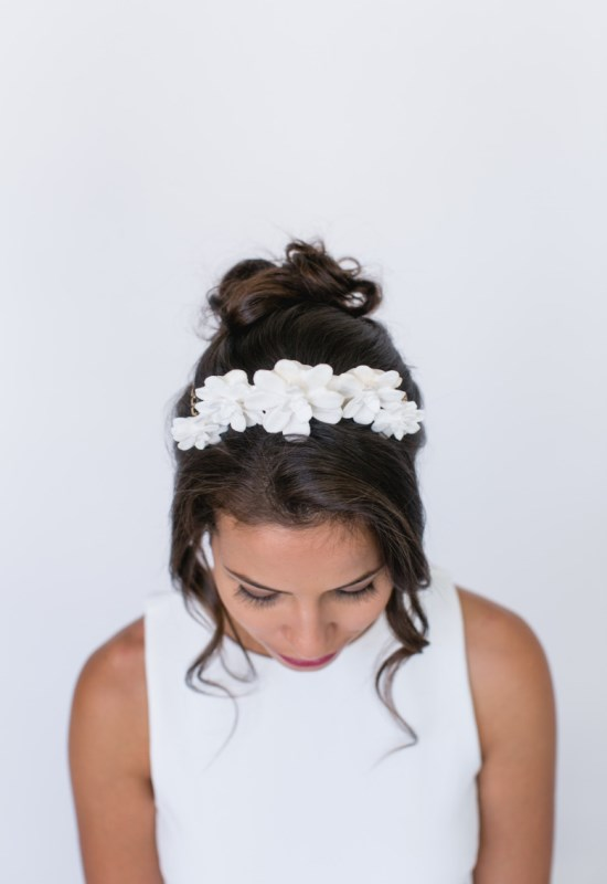 Picture Of unique and gorgeous diy 3d printed bridal headpiece  1