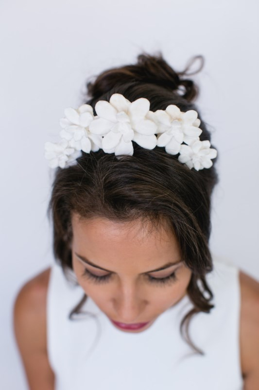 Picture Of unique and gorgeous diy 3d printed bridal headpiece  3