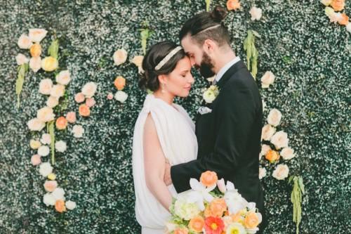 Unique Urban Meadow Wedding Inspiration