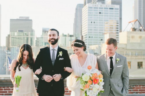 Unique Urban Meadow Wedding Inspiration