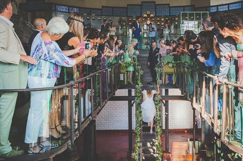 Picture Of unique wedding at an old power station in spain  10