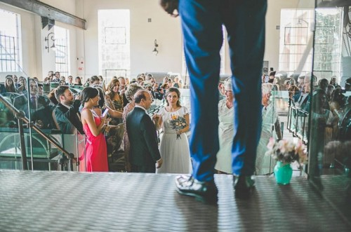 Unique Wedding At An Old Power Station In Spain