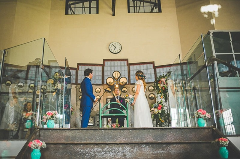 Picture Of unique wedding at an old power station in spain  13