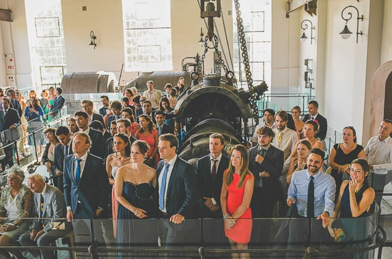 Picture Of unique wedding at an old power station in spain  14