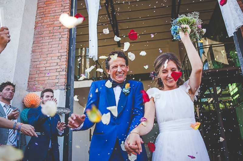 Picture Of unique wedding at an old power station in spain  17
