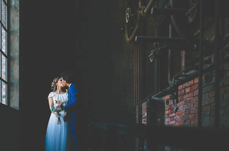 Picture Of unique wedding at an old power station in spain  20