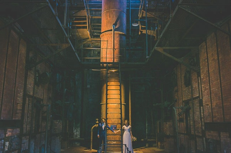 Picture Of unique wedding at an old power station in spain  21