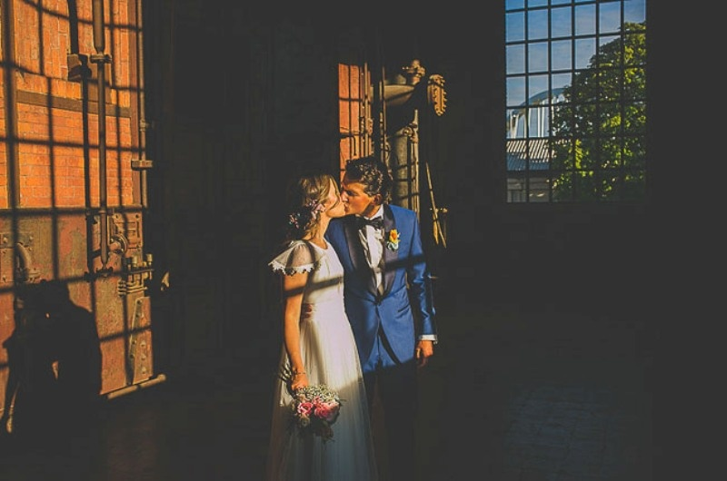 Picture Of unique wedding at an old power station in spain  25
