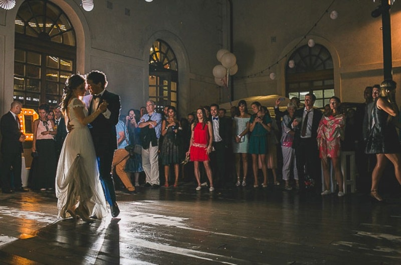 Picture Of unique wedding at an old power station in spain  35