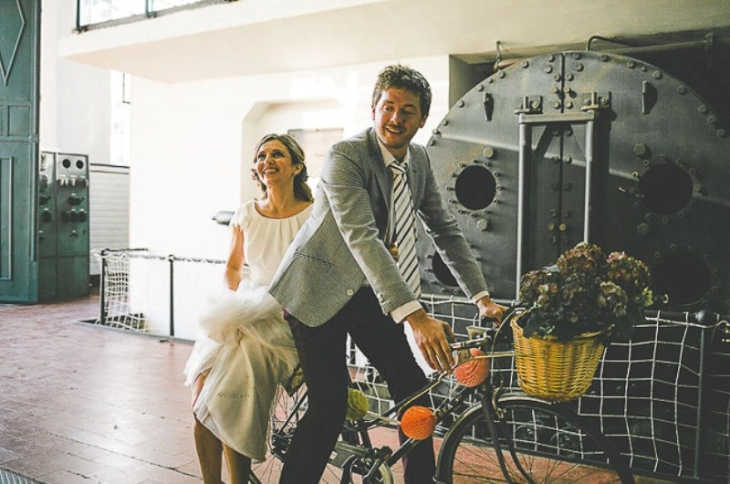 Picture Of unique wedding at an old power station in spain  9