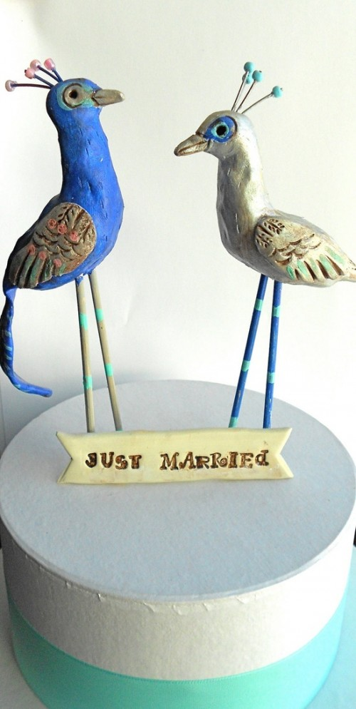 Unique Wedding Cake Toppers