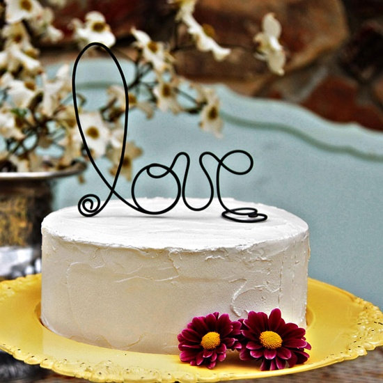 Unique Cake Decor : Picture Of Unique Wedding Cake Toppers