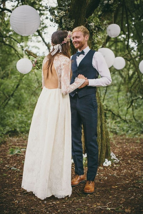 Unique Woodland Wedding Gowns To Rock