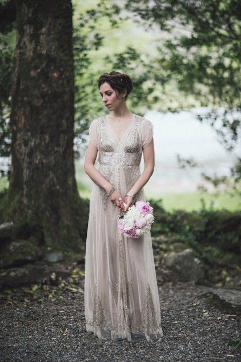 unique woodland wedding gowns rock