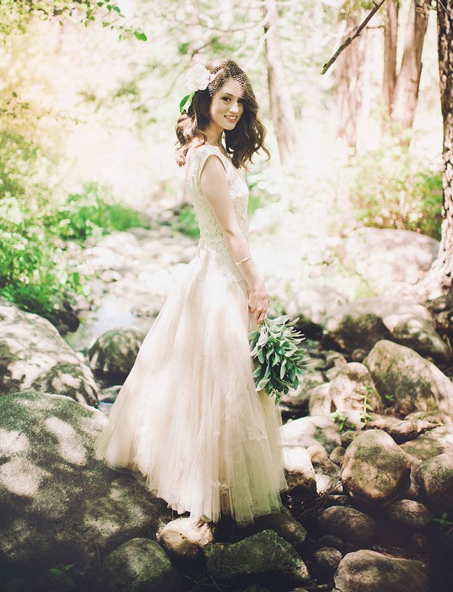 Picture Of Unique Woodland Wedding Gowns To Rock 9