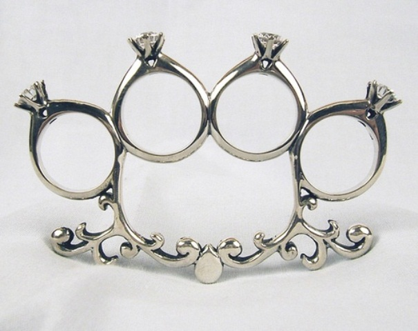 Picture Of Unusual And Exciting Wedding Rings