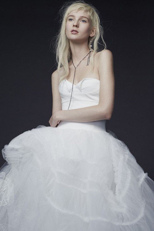 Vera Wang Fall 2015 Wedding Dresses Collection