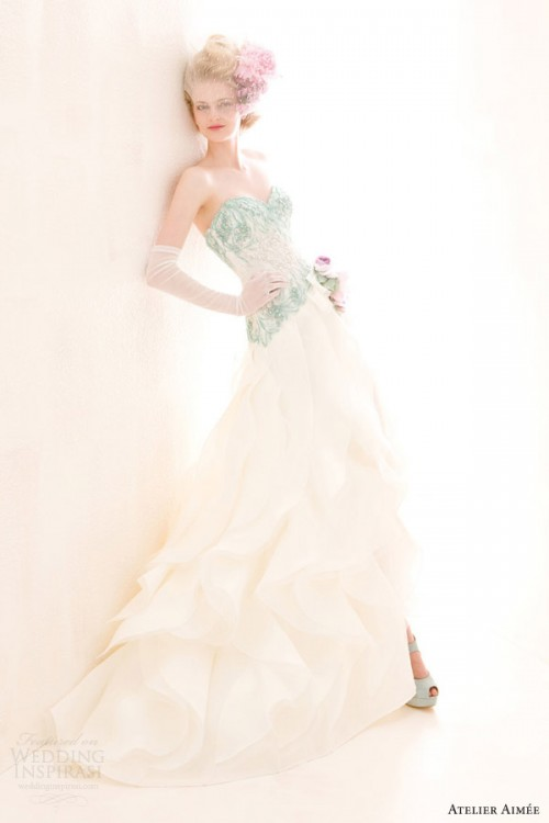 Verde Tiffany Wedding Dresses Collection By Atelier Aimee