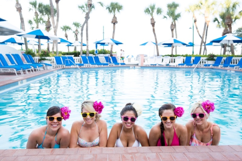 Very Cheerful Lilly Pulitzer Inspired Bachelorette Party For A Bride