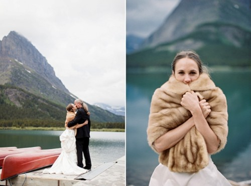 Very Intimate Wedding At Glacier National Park