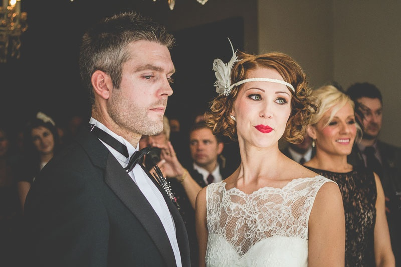 Very Stylish And Glamorous 1920s Wedding Theme