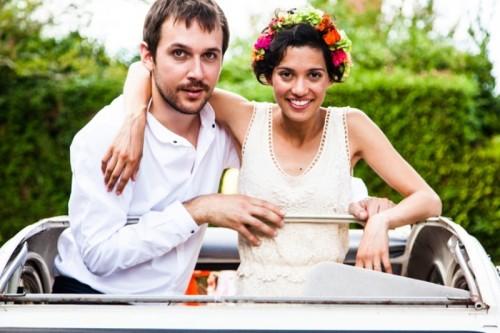 Vibrant And Romantic Handmade Garden Party Wedding
