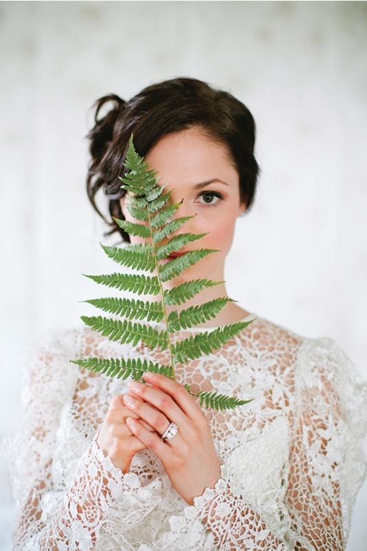 Victorian Botanical Wedding Inspirational Shoot