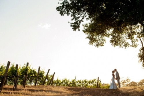 Vineyard California Wedding With DIY Details