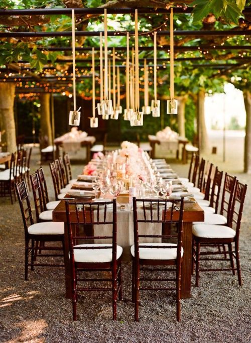 32 Vineyard Wedding Reception Décor Ideas