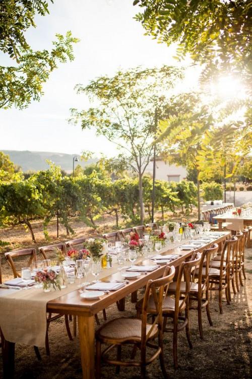 32 Vineyard Wedding Reception D Cor Ideas Weddingomania