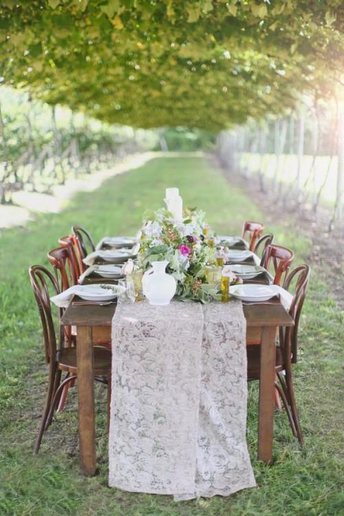 32 Vineyard Wedding Reception D 233 Cor Ideas Weddingomania