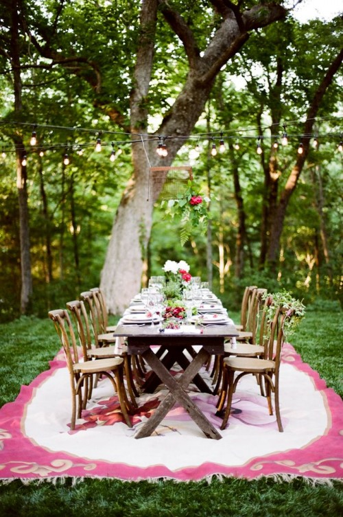 Vineyard Wedding Reception Decor Ideas