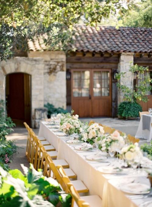 Vineyard Wedding Reception Decor Ideas