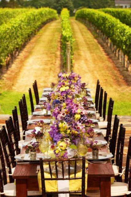 vineyard wedding decoration ideas 32 vineyard wedding reception d 233 cor ideas weddingomania 8271