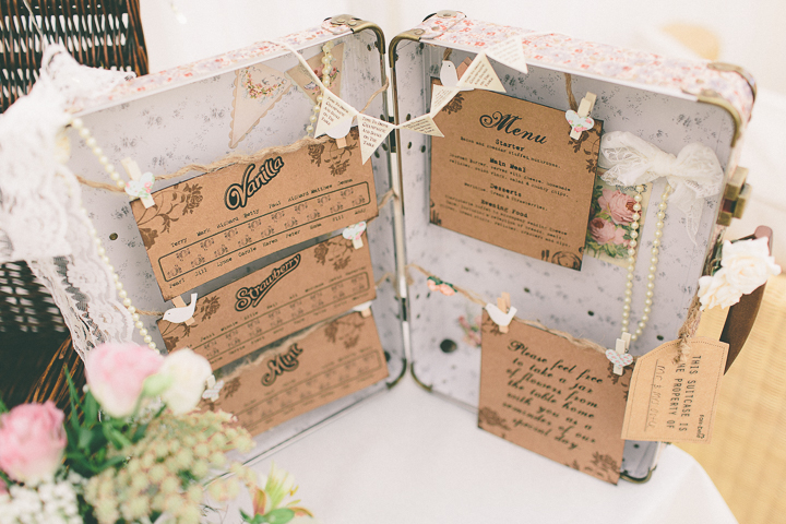 Vintage And Shabby Chic Wedidng In Pastels
