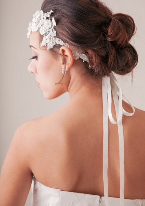 Vintage DIY Bridal Hair Tutorial