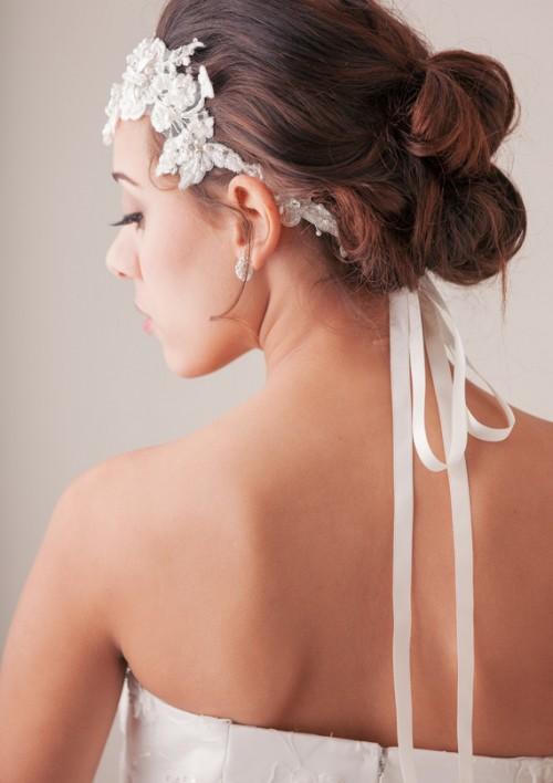 vintage diy bridal hair tutorial weddingomania