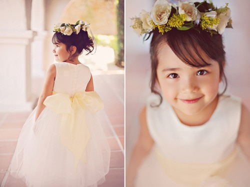 Vintage Grey And Yellow Wedding