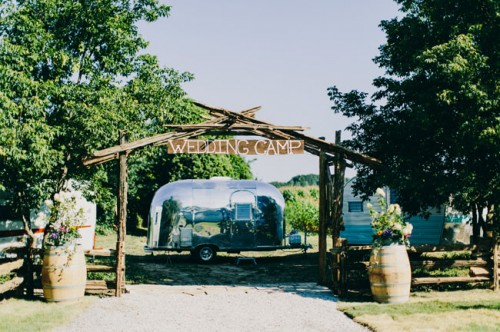 Vintage Handmade Canadian Barn Wedding