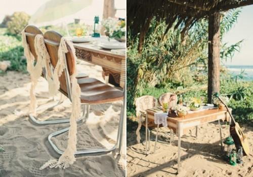 Vintage Hippie Inspired Surf Wedding Shoot