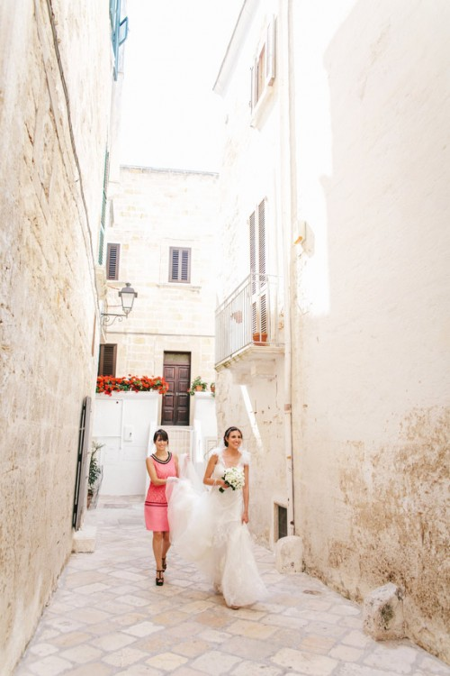 Vintage-Inspired Italian Coastal Wedding