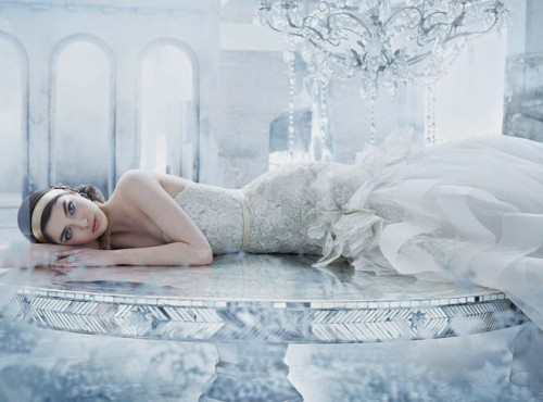 Vintage-Inspired Lazaro Bridal Spring 2014 Collection