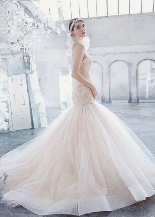 Vintage Inspired Lazaro Bridal Spring 2014 Collection