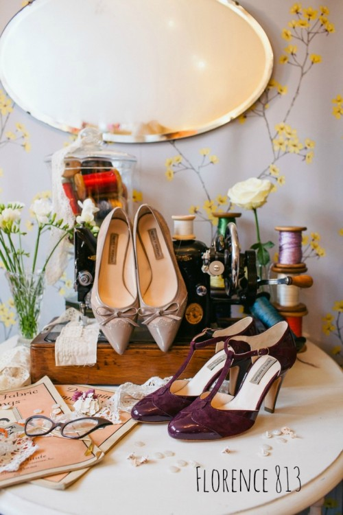Vintage Inspired Shoes Collection By Agnes And Norman