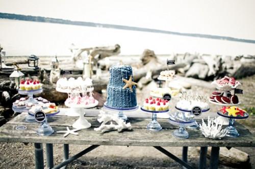 Nautical Beach Wedding