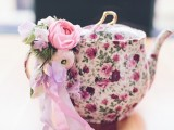 Vintage Pastel Bridal Shower With A Hint Of Rebellion