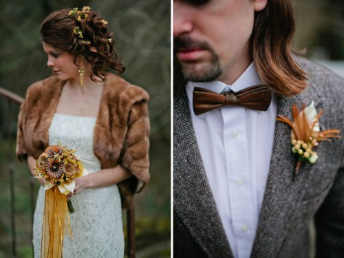 Vintage Patina Wedding Inspiration